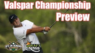 Valspar Championship Preview & Picks 2019 - DraftKings