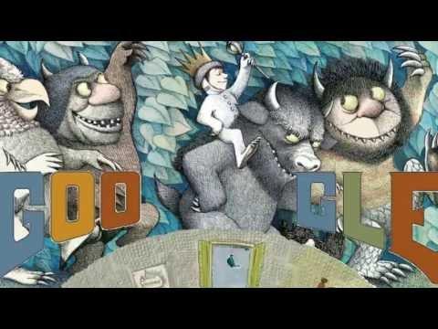 85 лет со дня рождения  Мориса Сендака.  Maurice Sendak Google Doodle  HD