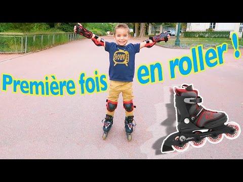 VLOG - PREMIÈRE FOIS EN ROLLER !