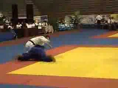 Rhadi Ferguson Judo Match arm break.flv Image 1