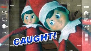 Elf on the Shelf Caught Moving on Real Security Camera | DavidsTV