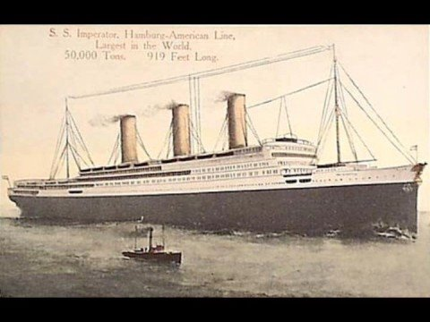 SS IMPERATOR-ALBERT BALLIN'S DREAM