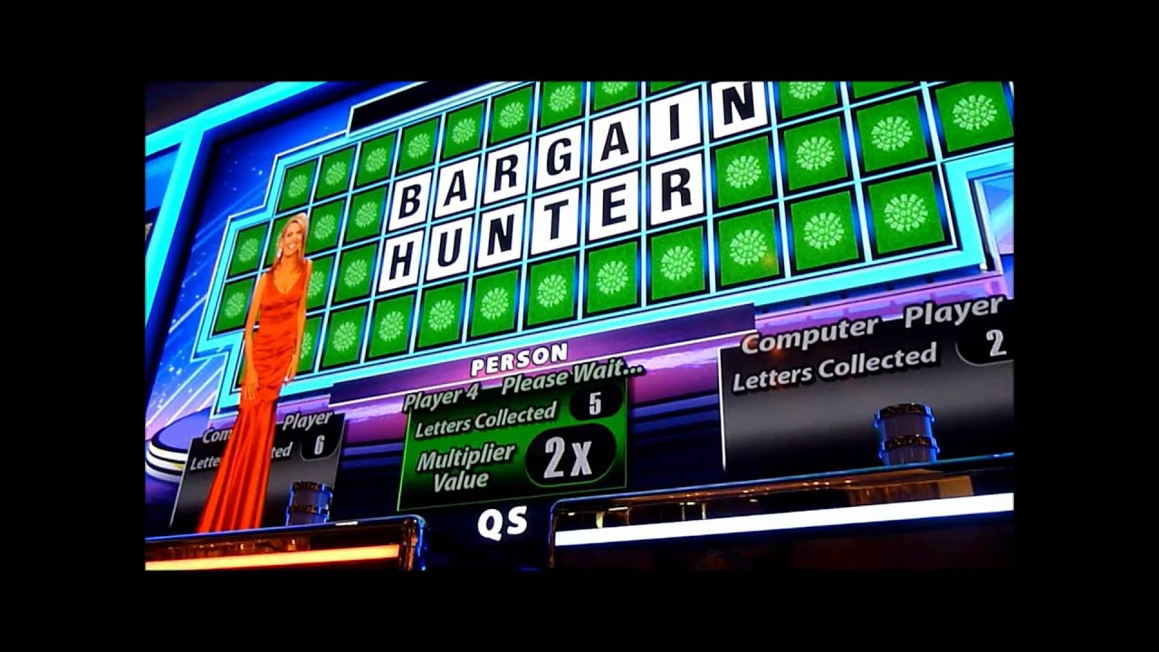 big wins on slot machines on wheel of fortune