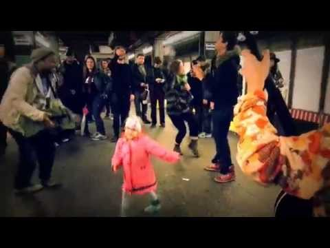 Dance Along As This Kid Starts A Subway Party