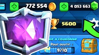 Clash Royale - ENORME 1er MONDIAL EN DIRECT ?? Rush LIGUE CHAMPION SUPREME !