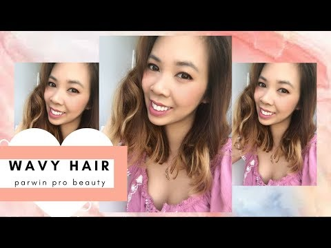 WAVY HAIR WITH 7 IN 1 CURLING WAND SET // PARWIN PRO BEAUTY