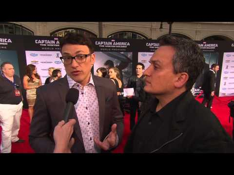 Captain America: The Winter Soldier: Directors Anthony & Joe Russo Movie Premiere Interview
