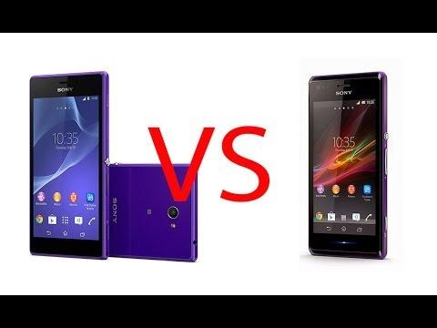 Sony Xperia M vs Xperia M2. comparativa