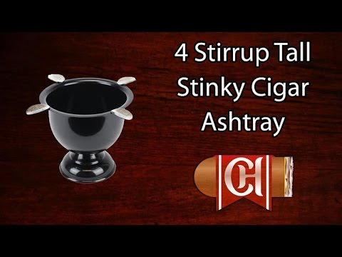 Stinky Cigar Ashtray Tall Stinky Cigar Ashtray