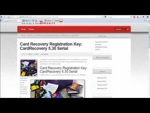 CardRecovery Key - New UPDATED LINK