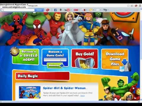 Marvel Super Hero Squad Online codes 2013