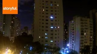 WORLD CUP: São Paulo Neighborhood Erupts in Deafening Cheers When Brazil Scores