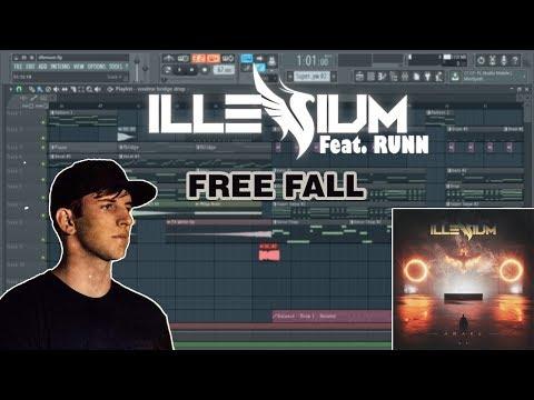 Illenium  - Free Fall (Feat.  RUNN) Instrumental Remake (Free FLP)