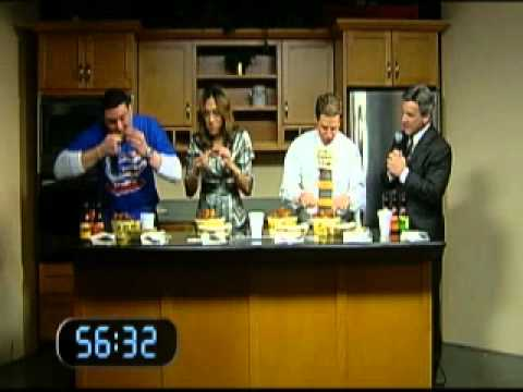 WBFF Fox45 Patrice Harris and Joel D. Smith Take On Wing Bowl Champion