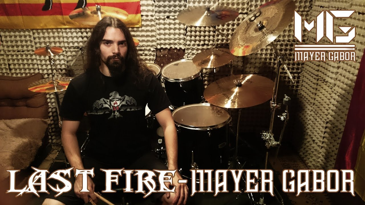 [Last Fire - Vér (Drum video)] Video