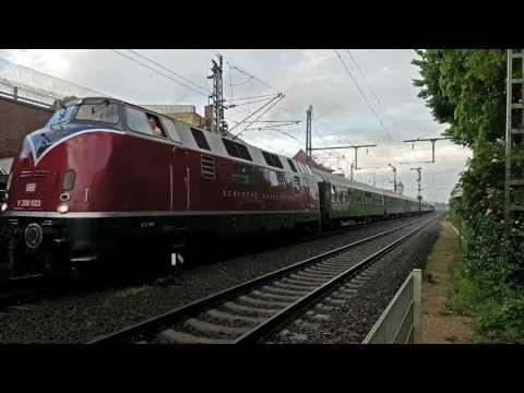 V200 033 met Sonderzug, Lingen
