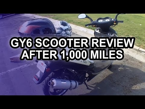 Chinese Scooter After 1.000 Miles (150cc Tao-Tao Lancer GY6)