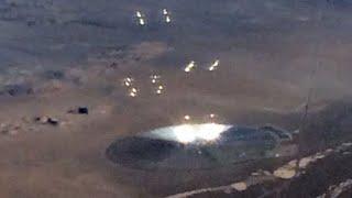 Pasa Er Ameryka Skich Linii Lotniczych Sfotografowa  Dziwny Obiekt Na Pustyni W Nevadzie