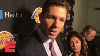 Lakers 'need more passion' from Lonzo Ball, Brandon Ingram – Luke Walton | NBA on ESPN