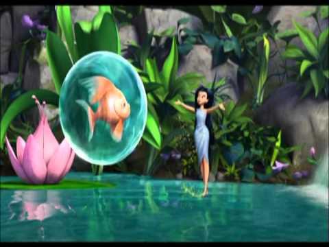 серебрянка и рыбы фея воды