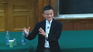 Jack Ma (Alibaba Group, AliExpress) at Lomonosov Moscow State University