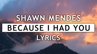 Download Lagu Shawn Mendes - Because I Had You (Lyrics) Gratis STAFABAND