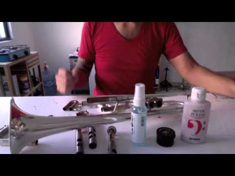 Como limpiar y desarmar una trompeta - Cesar Bugarin