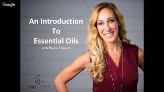 An Introduction to Essential Oils 2016