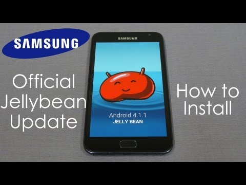 Samsung Galaxy Note - Official Jelly Bean Update - How to Flash/Install - Cursed4Eva.com