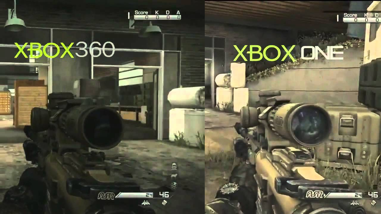 Call of Duty: Ghosts - Xbox One vs. Xbox360 Graphics ...