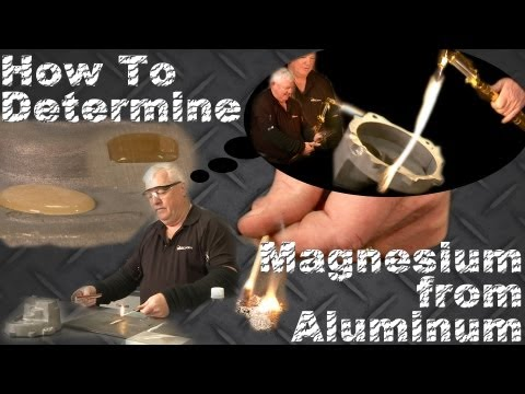How to Tell the Difference Between Magnesium & Aluminum