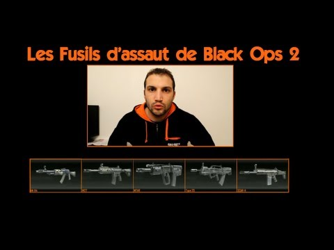 Black Ops 2 : test et point de vue sur les fusils d'assaut (V2)