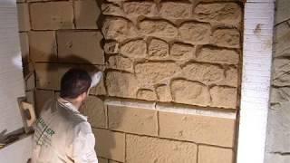 Curso tematizacion rocas y piedras con mortero tixotrópico