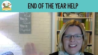End of the Year Help for Preschool