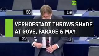 Verhofstadt throws shade at Farage, Gove and May
