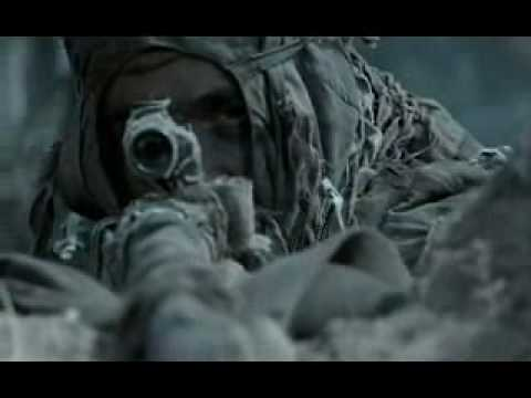 Russian snipers killing german soldiers