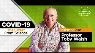 AI alerted us: The Latest From Science with Professor Toby Walsh [Ep. 20]