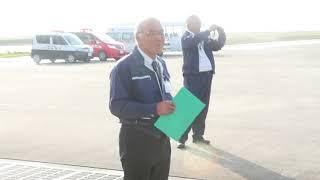 平成29年度新石垣空港航空事故消火救難訓練