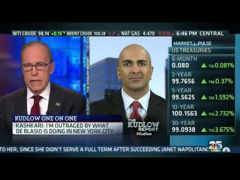 California GOP Gov. Candidate Neel Kashkari on CNBC's The Kudlow Report