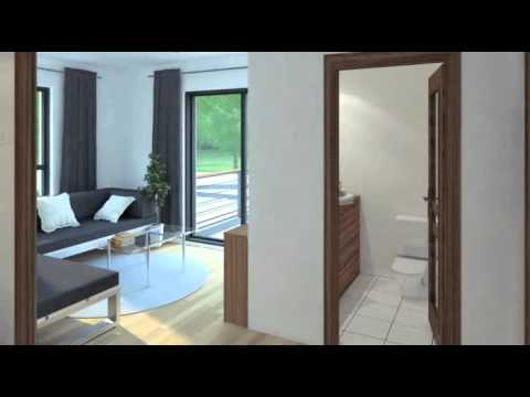 ctlv vid o maison 3d plans youtube. Black Bedroom Furniture Sets. Home Design Ideas