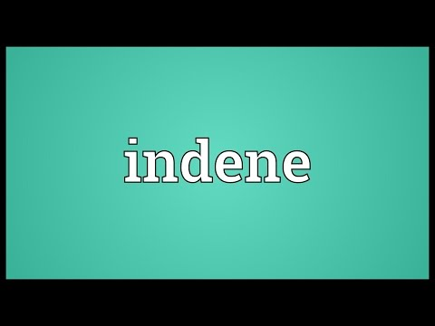 Header of indene