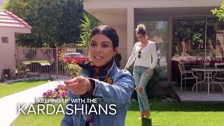KUWTK | Kardashian Sisters Visit Their Grandparents