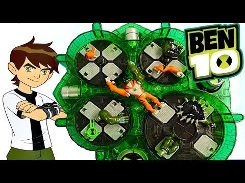 Ben 10 Buildable Alien Heroes Ultimate Alien Creation Chamber Toys Review