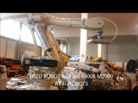 Used industrial robot ABB IRB 6400R M2000 in EUROBOTS