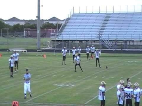Bishop Moore Catholic High School Freshmen Football 2009 - Touchdown!!