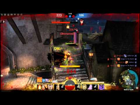 Guild Wars 2 Beta~Skilled Elementalist PvP! Scepter/Dagger