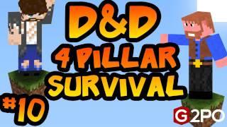 Dumb and Dumber on Minecraft - The Gardener: Part 10, 4 Pillars