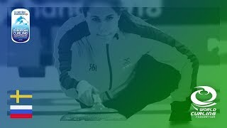 Sweden v Russia Women Round Robin Le Gruyre AOP European Curling Championships 2018