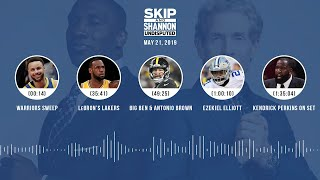 UNDISPUTED Audio Podcast (05.21.19) with Skip Bayless, Shannon Sharpe & Jenny Taft | UNDISPUTED