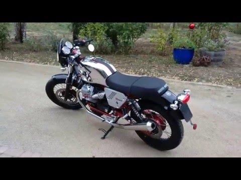 Motto Guzzi V7 Racer - Mistral Exhaust